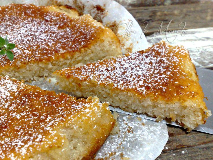 Torta ricotta e cocco, soffice senza uova | Oltre le MarcheOltre le Marche