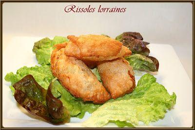 LA TABLE LORRAINE D'AMELIE: RISSOLES LORRAINES