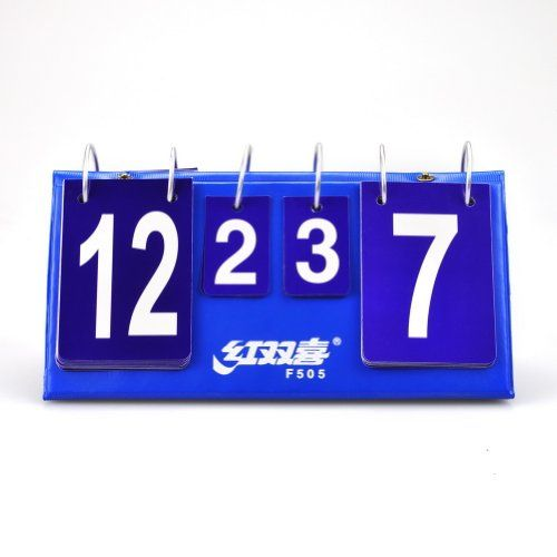 DHS F505 Portable Flip Table Tennis Scoreboard, Ping Pong Scorekeeper  //Price: $ & FREE Shipping //     #sports #sport #active #fit #football #soccer #basketball #ball #gametime   #fun #game #games #crowd #fans #play #playing #player #field #green #grass #score   #goal #action #kick #throw #pass #win #winning