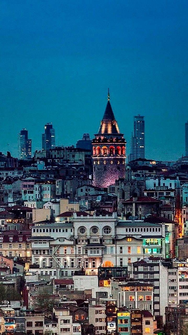 Galata Tower, Istanbul, Turkey – #Galata #istanbul…