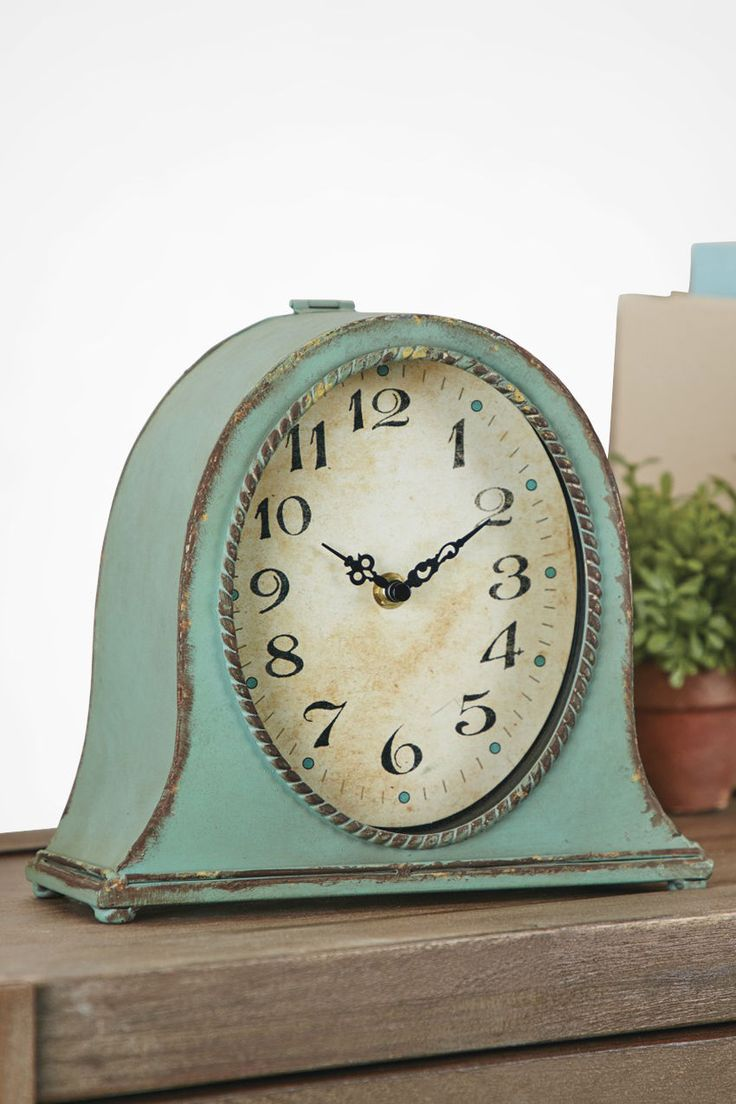 Mantel Clock available from Coldwater Creek