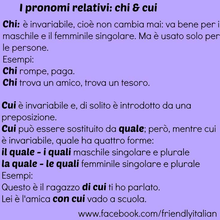 I pronomi relativi 2