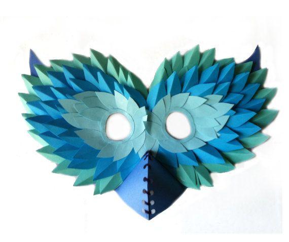 Owl Paper Mask