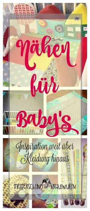 Nähen für Baby Jungs – Ideen für Kleidung, Deko, Zubehör