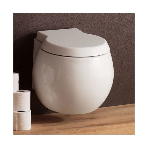 Found it at Wayfair - Planet Wall Mounted Round 1 Piece Toilet