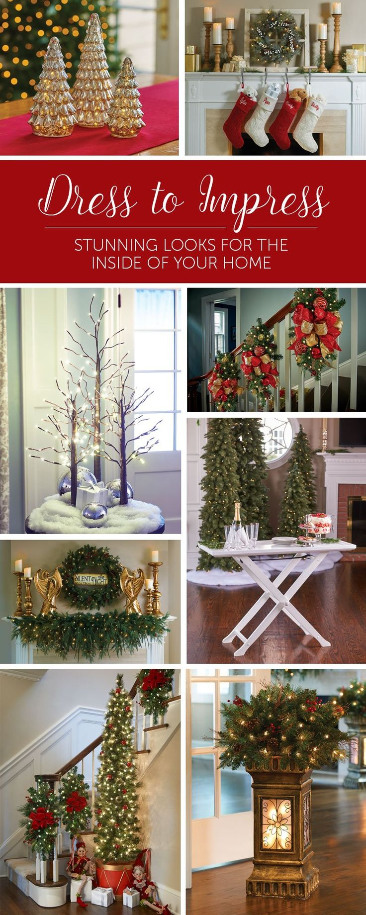 Your home improvements refference christmas dinner table decorations - Christmas Decor Ideas Dress Your Home To Impress