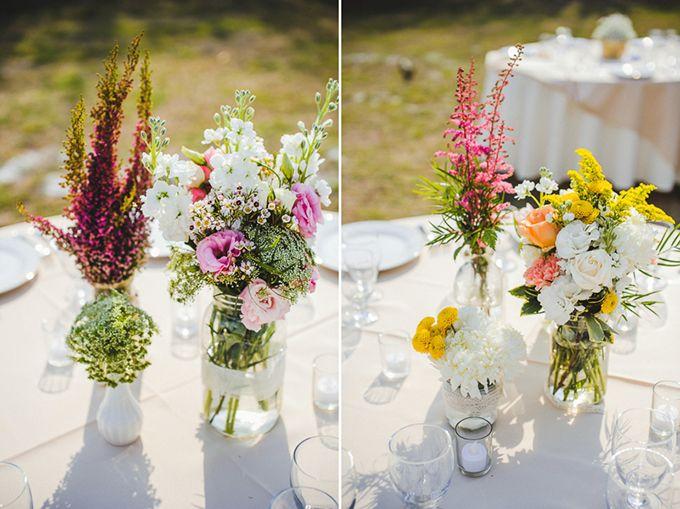 DIY素朴な春の結婚式|朝焼けの写真