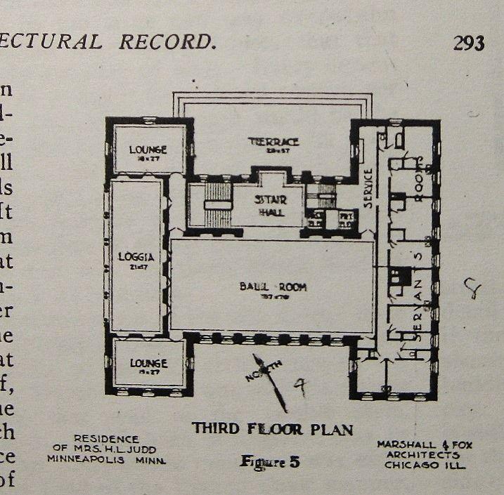 mpls mn architectural floor planshistorical
