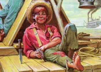 a characterization of finn from mark twains huckelberry finn Literature network » mark twain » huckleberry finn » character summary character summary main characters huckleberry (huck) finn: the hero of the story.