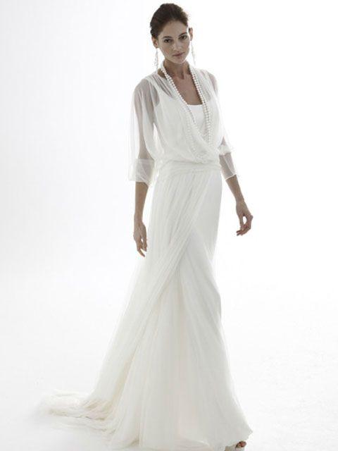 Vestido de Novia con Capas Superpuestas -- Le Sposa de Giò