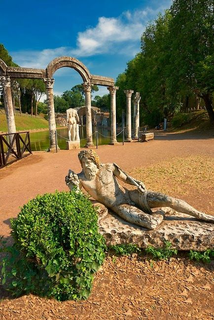Hadrian's Villa, UNESCO World Heritage Site, Tivoli, province of rome, region of Lazio, Italy cr. via Marcia Colucci - Michael Allen's photo on Google+