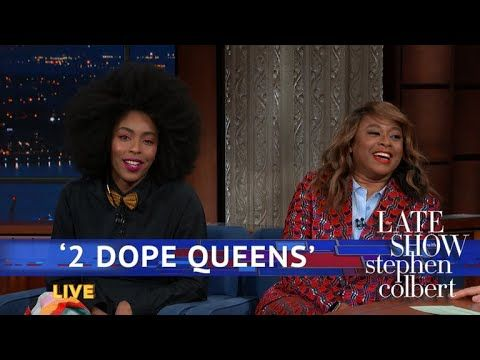 The '2 Dope Queens' Introduce Stephen To 'Zaddy' And 'Hot Peen' | '2 Dope Queens' hosts Jessica Williams and Phoebe Robinson give Stephen a vocabulary lesson.