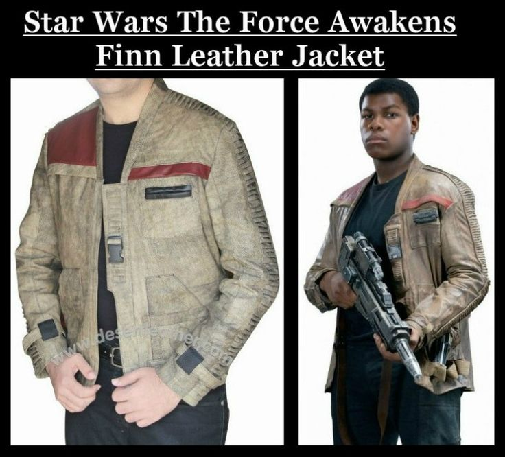 It's now time to look spectacular to get astonishing wear known as Star Wars Finn Jacket from our online store desertleather.com  #StarWars #TheForceAwakens #Movie #Finn #JohnBoyega #Fashion #Cosplay #geektyrant #celebrity #geek #sale #Shopping #MensFashion #MensWear #MensJackets #MensOutfit