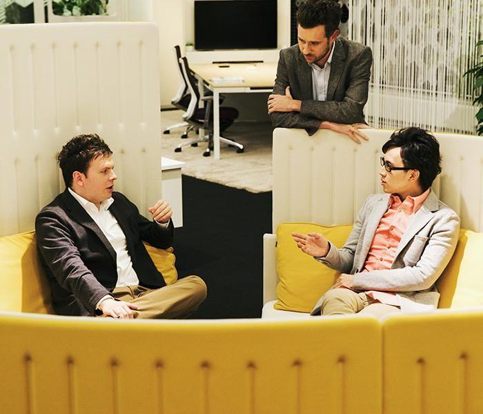 Muffle Pod | UCI Acoustic Modular Workplace Furniture by Okamura in Japan. uci.com.au