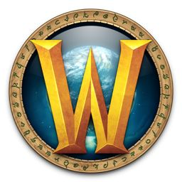 the wow logo classic one off icon design by louie mantia