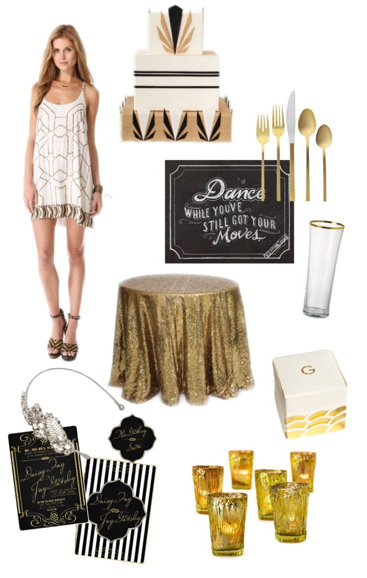 Read more - http://www.stylemepretty.com/living/2013/07/16/party-theme-great-gatsby/