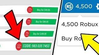 Ez How To Get Free Robux This Promocode Get 1 000 Free Robux Easy On Roblox November 2019 Go Videos All In 2020 Roblox Roblox Codes Promo Codes