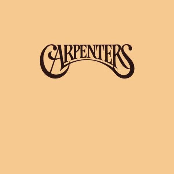 The Carpenters, The Carpenters (1971) | 24 Minimalist Album Covers