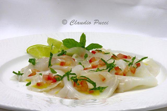 Piccolo Mondo - I Piatti: Baccalà marinato al lime