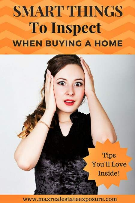 Do you know the things to inspect when buying a home? Take a look at everything you should consider inspecting when purchasing a house. http://www.maxrealestateexposure.com/things-inspect-buying-home/