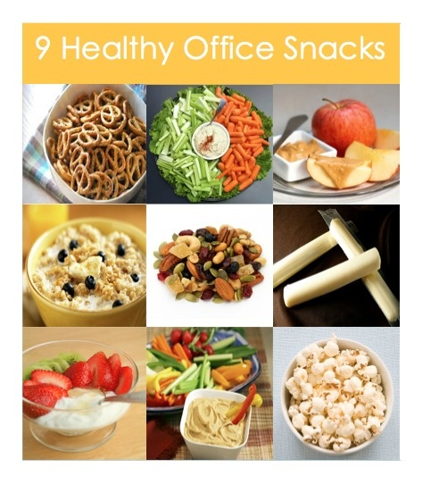 The 50 Best (And Super Easy) Healthy Office Snacks erinhurley June 10, 1, Comments Snacking at the office more often that not turns into a candy bar scarfed down on your way to the restroom – if you remember to snack at all.