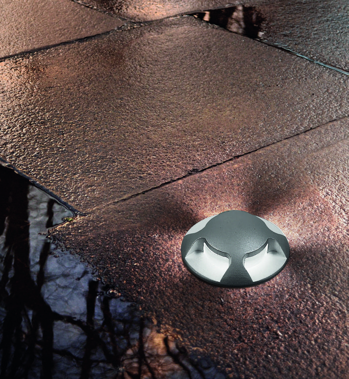 Segnapasso LED da esterno calpestabile (max. 1000Kg), 1W