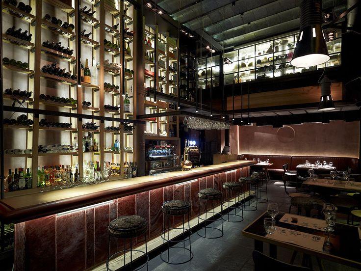 Dise o interior restaurantes industriales interiores Disenos de interiores para restaurantes