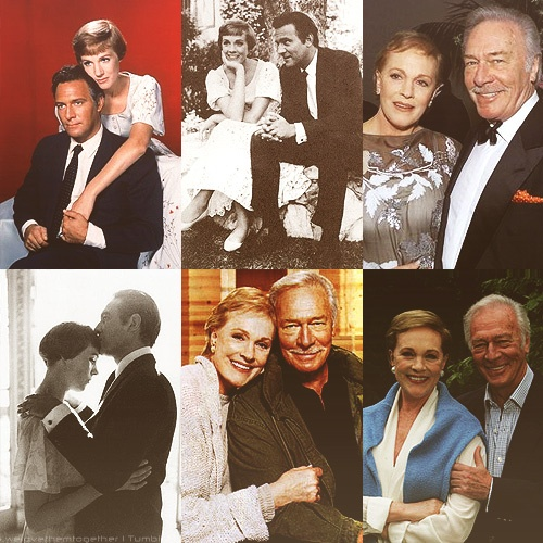 Julie Andrews and Christopher Plummer in honor of the sound of music