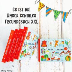 Freundebuch Kindergarten XXL Mit Tasche - cherry-picking-shops Webseite!