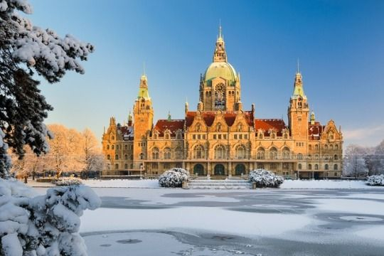 Rathaus (city hall), Hannover, Northern Germany