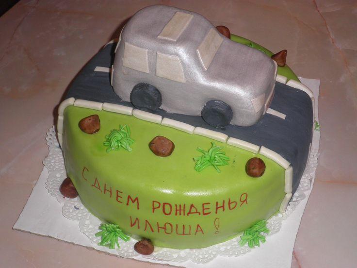 Джип #торт_на_заказ_бровары #машинки #бисквитный_торт #шоколадный_торт #комбинированный_торт
