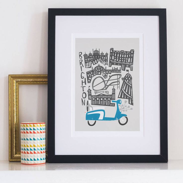 Are you interested in our Brighton city print? With our British seaside you need look no further.
