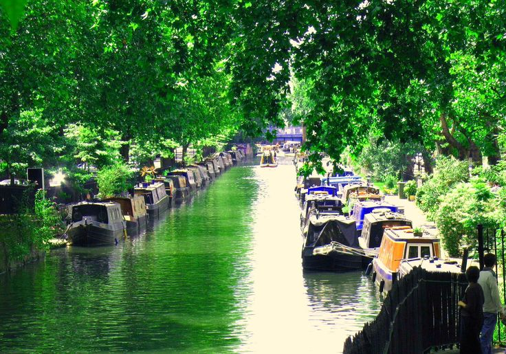 Little Venice in London. What other foreign influences can be found in London? Document through a photo narrative.