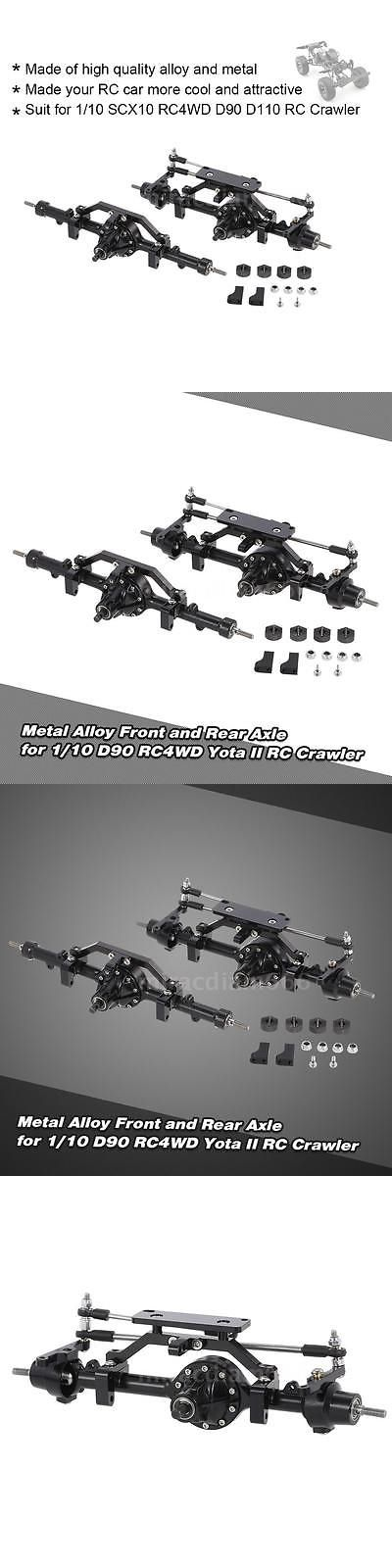 Suspension and Steering Parts 182199: Us! Metal Alloy Front Axle Rear Axle For 1 10 D90 Rc4wd Yota Ii Rc Crawler L5e6 -> BUY IT NOW ONLY: $91.49 on eBay!