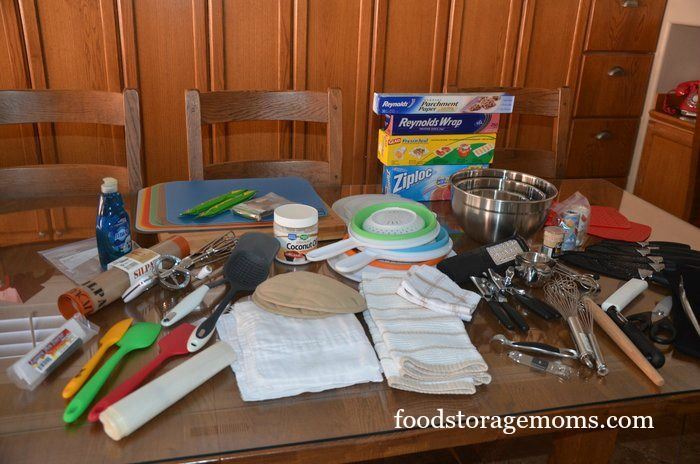 My Back To Basics: How To Make A Portable Kitchen is part of my weekly series to help us all be prepared for the unexpected. I recently visited my daughter and her family for four…