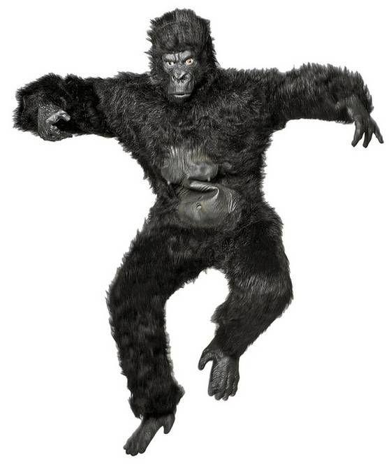 Gorilla pak luxe Nr.1 in carnavalskleding en feestartikelen. Goedkope carnavalskleding en carnavalskostuums online bestellen. Snelle levering van jouw carnavals