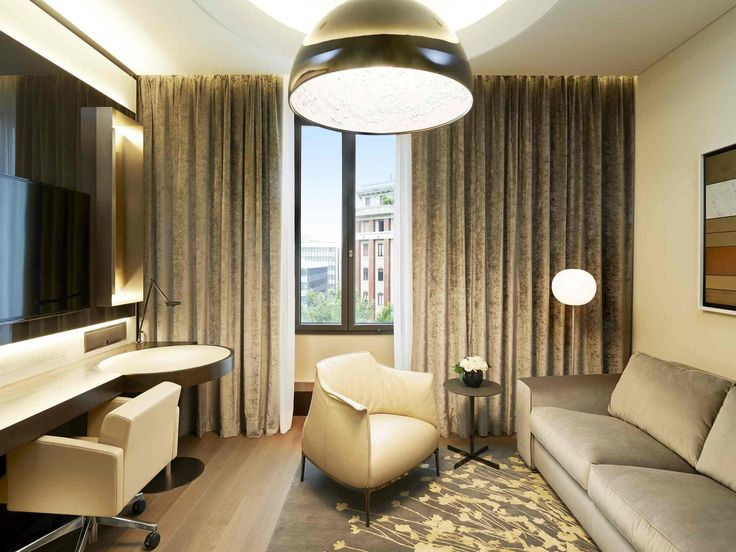 Taking inspiration from the Milanese loft style design - the Signature Suite. #excelsiorgallia #suites #theluxurycollection