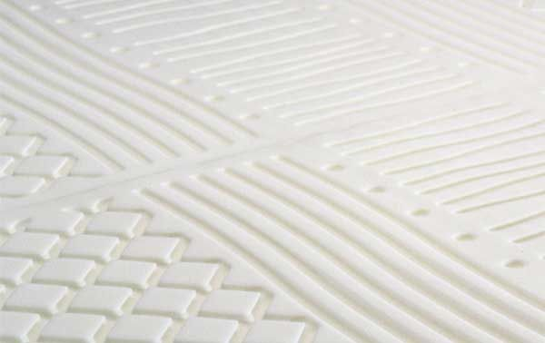 Superficie di contatto in visco elastico, del materasso Permaflex Delice http://www.centropermaflex-online.com/prodotto-143131/Materasso-DELICE-Permaflex-h22.aspx