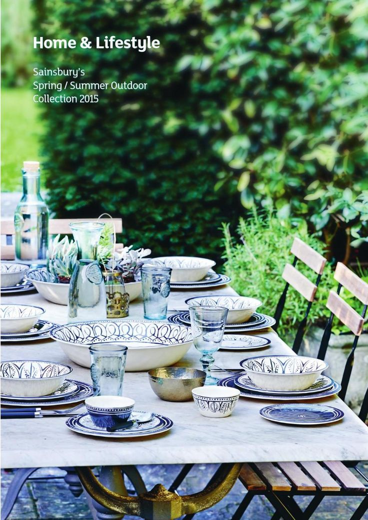 Sainsbury's Outdoor Collections for Spring/Summer 2015 #Sainsburys #home #interiors #summer #spring #outdoor