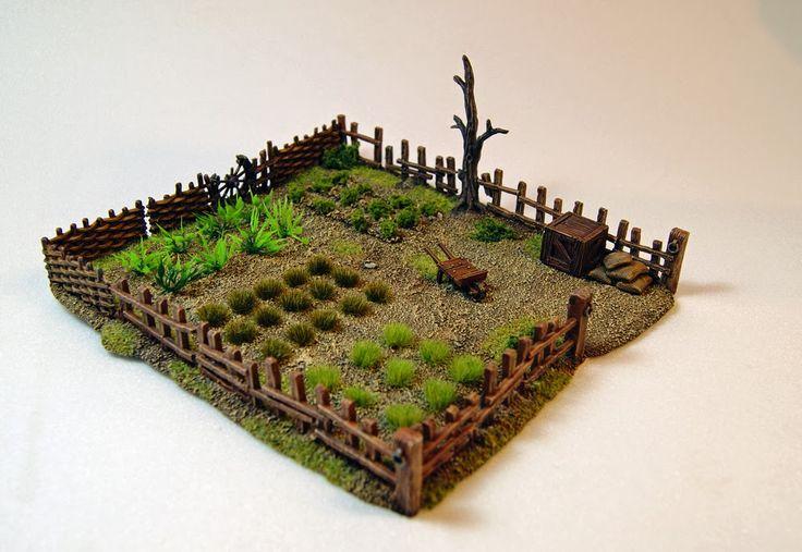Miniature Warfare: Rural Terrains
