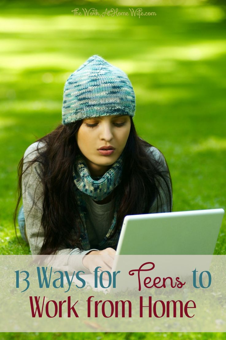 With the summer just around the corner, it's a great time to explore a few ways for teens to make money. Surprisingly, there are quite a few ways to work from home.
