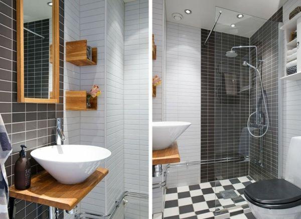 Trendy Apartment in Stockholm - schwarz-weiße Einrichtung und Möblierung   - http://cooledeko.de/architektur/trendy-apartment-in-stockholm.html