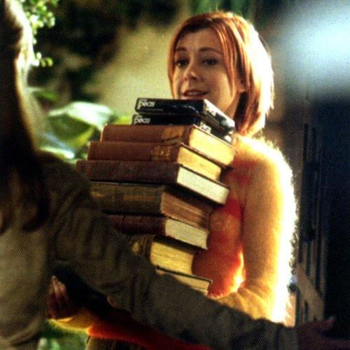 Nerd girlsGreatest Under Utility, Buffy Willow, Willow Rosenberg, Alyson Hannigan, Nerd Girls, Hannigan Reading, Under Utility Romantic, John Green, Romantic Resources