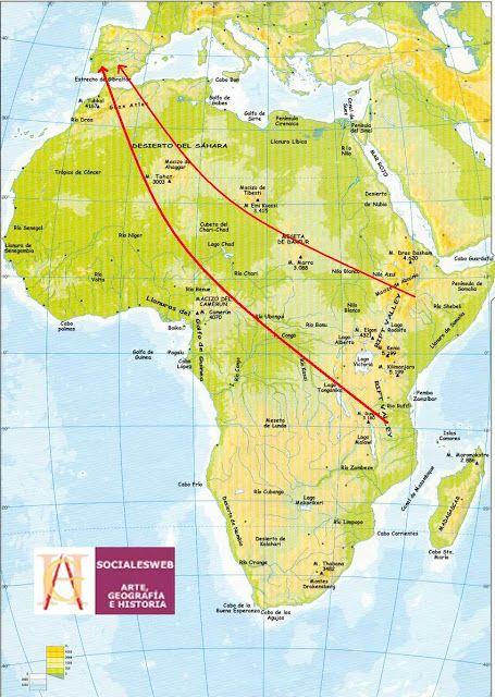 Los primeros habitantes de España provienen de África #prehistoria #España