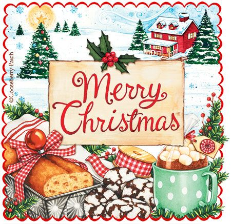"""""""MERRY CHRISTMAS"""" -To All My Pinners And Followers!-Thank You For A Great Year On """"Pinterest""""!"""