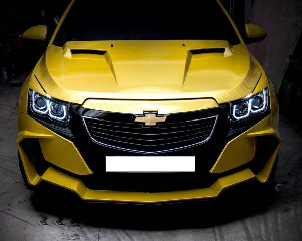 Chevrolet Cruze Project Yellow Transformer In Images รถแต ง