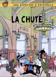 Les Aventures de Tintin - Album Imaginaire - La Chute