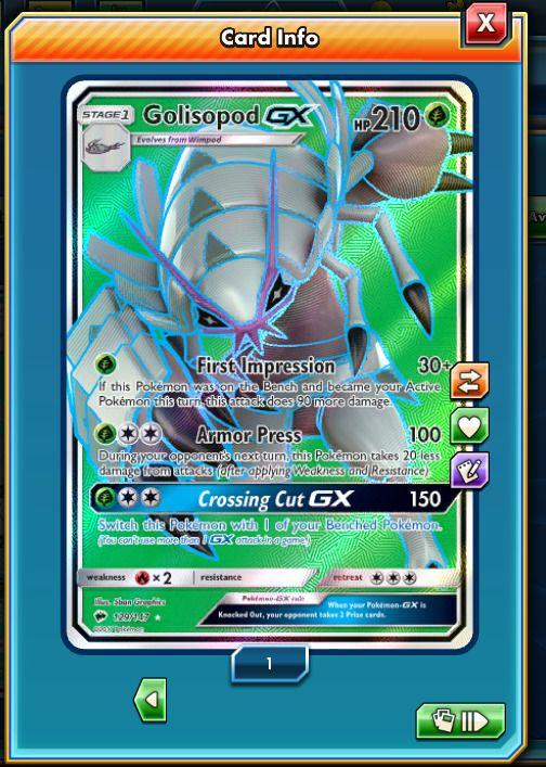 FA Golisopod-GX 129/147 - Pokemon Trading Card Game PTCGO Digital card online | eBay  #ptcgo #pokemontcgo #pokemon #pokemoncards #pokemon20 #pokemontcg #pokemonx #pokemony #pokemoncommunity #pokemonxy #pokemonart #pkmncard #pokemontrainer #pokemonmaster #pokemoncollector #pokemonred #pokemonmoon #pokemonsunandmoon #pokemoncenter #pkmn #venusaur #pokesphere #rare #ultrarare #blastoise #charizard #pokemonxandy #pokemonbattle