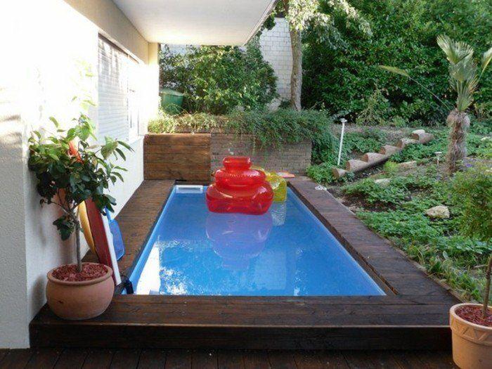 1000 id es sur le th me piscine enterr e sur pinterest margelle piscines et mini piscine. Black Bedroom Furniture Sets. Home Design Ideas