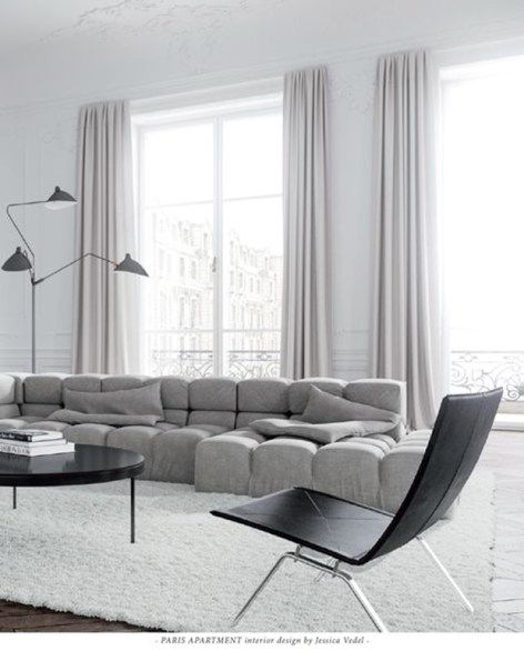 Apartment Interior Vedel Design Jessica Paris